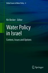 Water Policy in Israel by Nir Becker