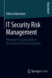 IT Security Risk Management by Tobias Ackermann