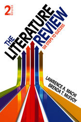 The Literature Review by Lawrence (Larry) A. (Anthony) Machi