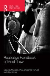 Routledge Handbook of Media Law by Monroe E. Price