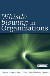 Whistle-Blowing in Organizations