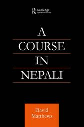 Course in Nepali by David Matthews