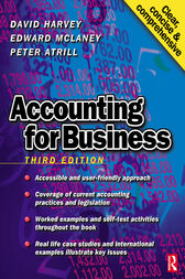 Accounting for Business by David Harvey
