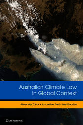 Australian Climate Law in Global Context by Alexander Zahar