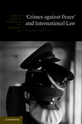 'Crimes against Peace' and International Law by Kirsten Sellars
