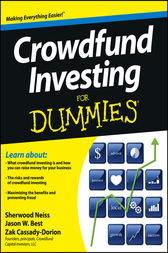 Crowdfund Investing For Dummies by Sherwood Neiss