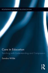 Care in Education by Sandra Wilde
