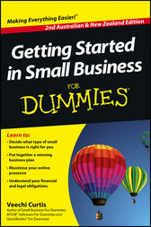 Getting Started in Small Business For Dummies by Veechi Curtis