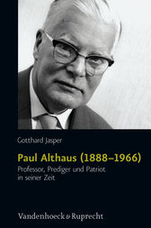 Paul Althaus (1888–1966) by Gotthard Jasper