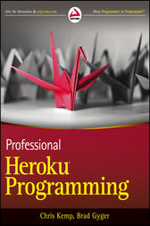 Professional Heroku Programming by Chris Kemp