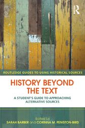 History Beyond the Text by Sarah Barber