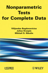 Nonparametric Tests for Complete Data by Vilijandas Bagdonavièus
