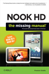 NOOK HD: The Missing Manual by Preston Gralla