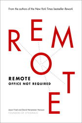 Remote by Jason Fried