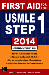 First Aid for the USMLE Step 1 2014 by Tao Le