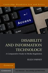 Disability and Information Technology by Eliza Varney