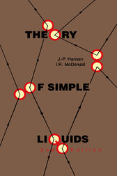 Theory of Simple Liquids by Jean-Pierre Hansen