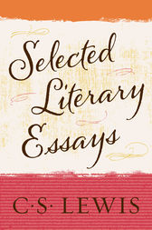cs lewis selected literary essays