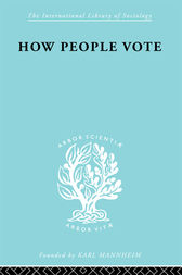 How People Vote by Mark Benney