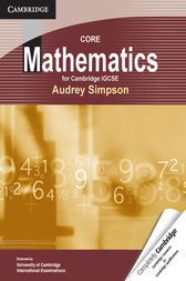 Core Mathematics for Cambridge IGCSE by Audrey Simpson