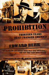 Prohibition by Edward Behr