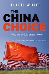 The China Choice by Hugh White