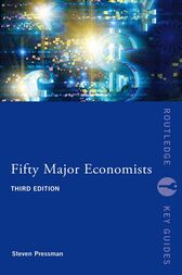 Fifty Major Economists by Steven Pressman