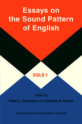 Essays on the Sound Pattern of English by Didier L. Goyvaerts