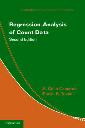 Regression Analysis of Count Data by A. Colin Cameron