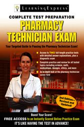 Pharmacy Technician Exam by Learning Express Llc