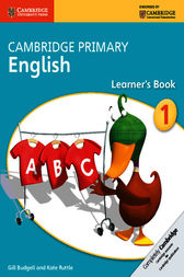 Cambridge Primary English Stage 1 Learner's Book by Gill Budgell