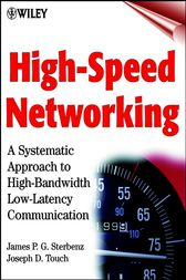 High-Speed Networking by James P. G. Sterbenz