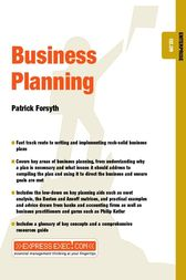 Business Planning by Patrick Forsyth