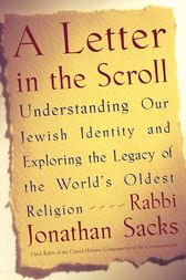 A Letter in the Scroll by Rabbi Jonathan Sacks