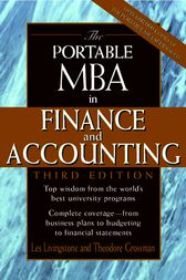 The Portable MBA in Finance and Accounting by John Leslie Livingstone