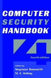 Computer Security Handbook by Seymour Bosworth