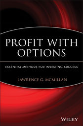Profit With Options by Lawrence G. McMillan