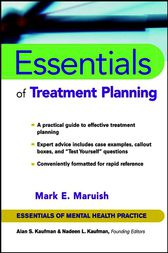 Essentials of Treatment Planning by Mark E. Maruish