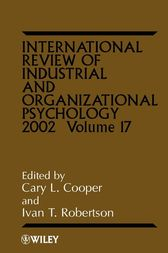International Review of Industrial and Organizational Psychology 2002 by Cary L. Cooper