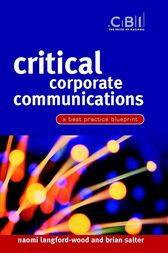 Critical Corporate Communications by Naomi Langford-Wood