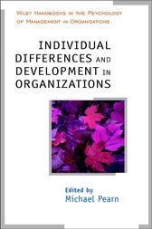 Individual Differences and Development in Organisations by Michael Pearn