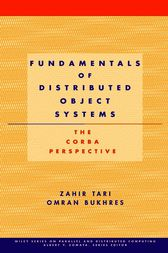 Fundamentals of Distributed Object Systems by Zahir Tari