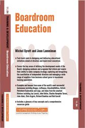 Boardroom Education by Michel Syrett