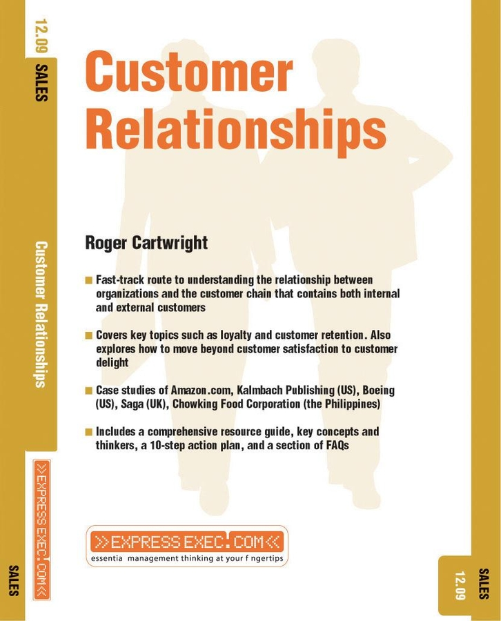 Download Ebook Customer Relationships by Roger Cartwright Pdf