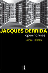 Jacques Derrida by Dr Marian Hobson