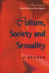Culture, Society And Sexuality by Peter Aggleton