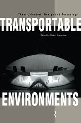 Transportable Environments by Robert Kronenburg