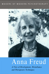 Anna Freud by Rose Edgcumbe