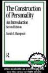 Construction of Personality by Sarah E. Hampson