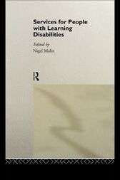 Services for People with Learning Disabilities by Nigel Malin